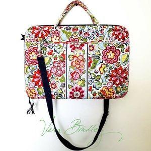 "Vera Bradley ""Hope Garden"" Laptop Crossbody Bag"